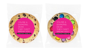Diamond Womens Day Personalised Cookie 80g