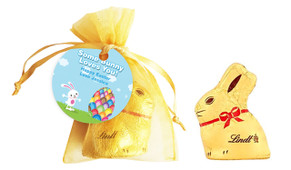 Big Egg Bunny Personalised Easter Bunny Bag