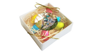 perspective - Happy Easter with Photo Personalised Easter Egg Nest Box