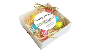 Perspective - Floral Watercolour Personalised Easter Egg Nest Box