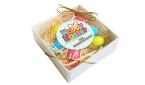 Happy Easter Personalised Easter Egg Nest Box
