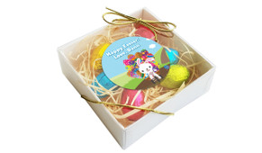 Overflowing Eggs Personalised Easter Egg Nest Box