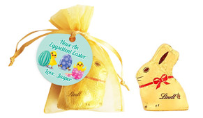 Chickens Hatching Personalised Easter Bunny Bag