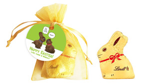 Chocolate Bunnies Personalised Easter Bunny Bag