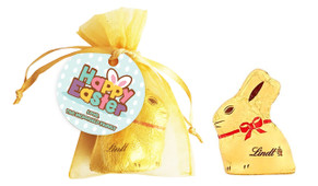 Happy Easter Personalised Easter Bunny Bag