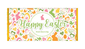 Cute And Colourful Personalised Easter Chocolate Bars