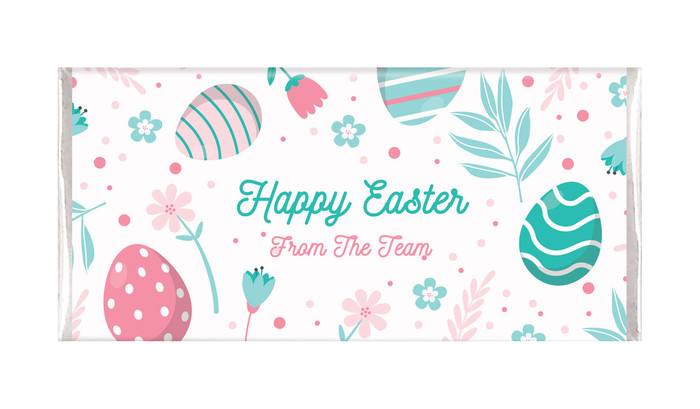 Easter Elements Personalised Easter Chocolate Bars