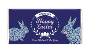 Full Of Flowers Personalised Easter Chocolate Bars
