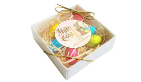 Perspective - Beautiful Bunny Personalised Easter Egg Nest Box