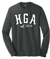 HGA Long Sleeve Distressed Logo