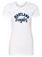Hartland CVC Crew Neck Women's/Girls Fitted Tee