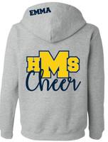 HMS Cheer Full Zip Hoodie