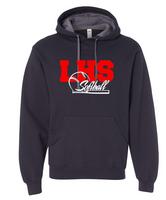 LHS Softball Contrast Hoodie