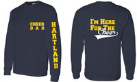 HAYAA Cheer Dad Long Sleeve Tee