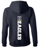 Hartland Eagles Full Zip Hoodie