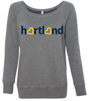 Hartland Eagles Wide Neck Sweatshirt