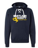 HHS Gymnastics Lace Up Hoodie