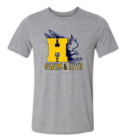 HHS Swim & Dive Short Sleeve Eagle Tee