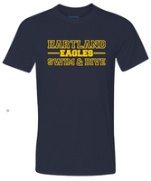 HHS Swim & Dive Short Sleeve Hartland Eagle Tee