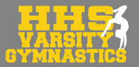 HHS Gymnastics Car Decal