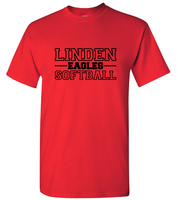LHS Eagles Softball 2019 Unisex Tee