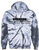 Warrior Tie Dye Hoodie