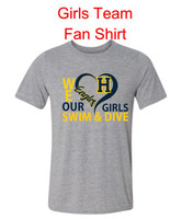 HHS Girls Swim & Dive Love Tee