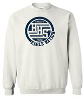 HHS Varsity Pom Crew Neck Sweatshirt