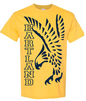 Hartland Eagles Short Sleeve Tee