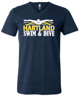 HHS Swim & Dive V-Neck Unisex Tee
