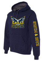 HHS Boys Swim & Dive Colorblock Hoodie