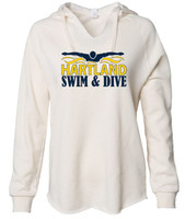 HHS Boys Swim & Dive Women's Wave Wash Hoodie