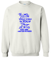 Limited Edition World Down Syndrome Day Crew Neck Sweatshirt