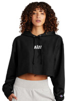 NAST Champion Cropped Logo Hoodie