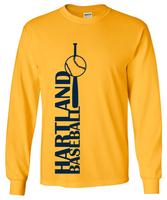 Hartland Eagles Baseball Unisex LS Tee