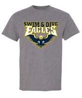 Hartland Eagles Swim & Dive Unisex Eagle Tee