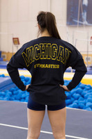 Navy Michigan Pom Jersey