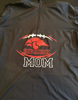 Red Hawk Football 1/4 Zip