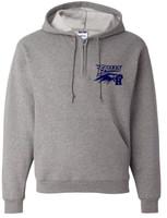 Jerzees - NuBlend Quarter-Zip Hooded Sweatshirt