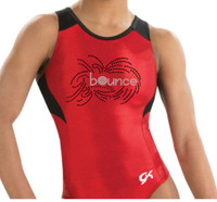 BRANDED Mesh Racerback Leotard