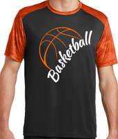 CamoHex Colorblock Basketball Tee