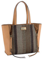 Tropicana Handbag Brown, Lrg
