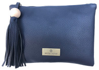 Tropicana Clutch Blue