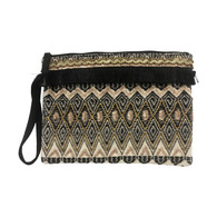 Bahama Clutch Black/ Gold