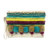 Bahama Clutch Cream/Multi
