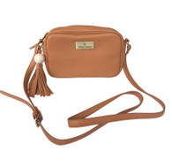 Tropicana Satchel Brown