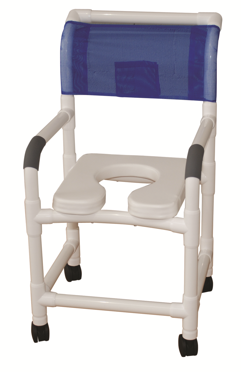Roll In Shower Chair Extra Wide Padded Seat Careprodx