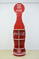 A larger than life 180 degree Bottle FSU 560mm W x 360mm D x 2300mm H