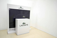 Freestanding Display wall and Promo Table set 1800mm W x 500mm D x 1900mm H
