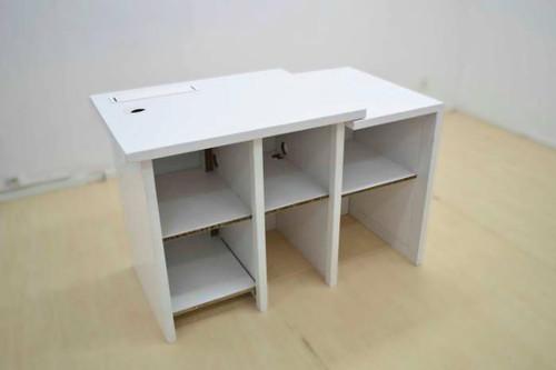 Promo Desk 1250mm (w) x 545mm (d) x 785mm (h)